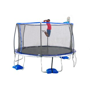 TruJump 14' Round Trampoline with Safety Enclosure