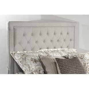 Dupuis Upholstered Panel Headboard by Winston Porter