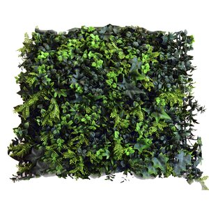 Artificial Moss Wall Du00e9cor (Set of 4)