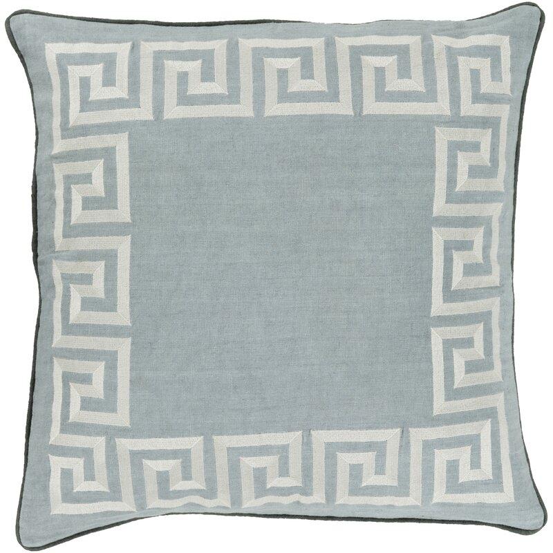 Amersham Linen Geometric Throw Pillow Cover & Reviews ...