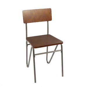 Alexandrine Solid Wood Dining Chair with ..