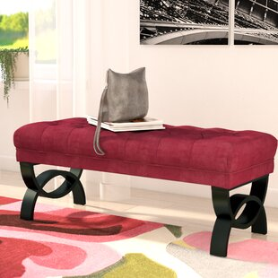 Beene Upholstered Bench by Wrought Studio