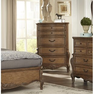 Astoria Grand Petti 5 Drawer Chest Image