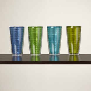 Quinn Plastic Every Day Glass (Set of 4)