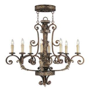 Look for Schweizer 8-Light Chandelier By Astoria Grand