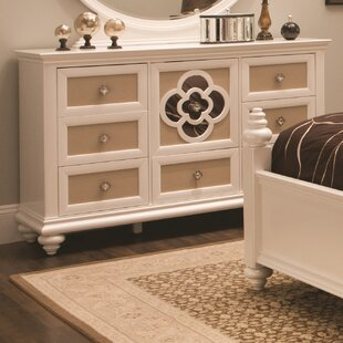 Paris 7 Drawer Combo Dresser
