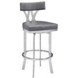Sweeney Bar & Counter Swivel Stool by Canora Grey