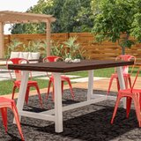 Liverman Solid Wood Dining Table