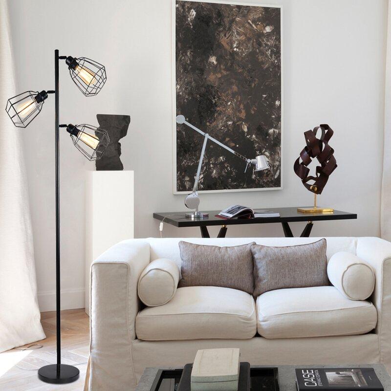 "Williston Forge Tavish 65"" Tree Floor Lamp"