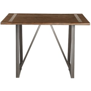 Hilal Industrial Live Edge Pub Table by G..