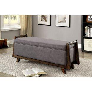 Read Reviews Craner Upholstered Storage Bench ByWorld Menagerie