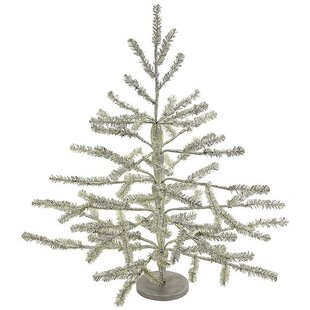 vintage tinsel silver artificial christmas tree - Vintage Tinsel Christmas Tree