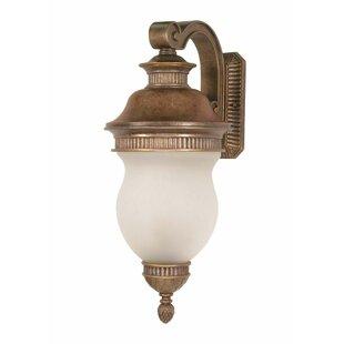 Best Reviews Bevins 3-Light Outdoor Wall Lantern By Fleur De Lis Living