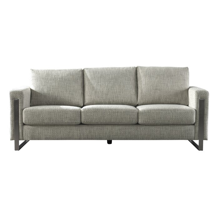 Acanva Contemporary Down Filled Sofa Couch