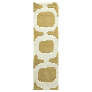 Shopping for Tarakeswar Hand-Tufted Wool Green/White Area Rug By Meridian Rugmakers