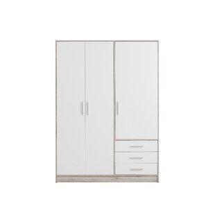 Shoaf 4 Door Wardrobe By Mercury Row