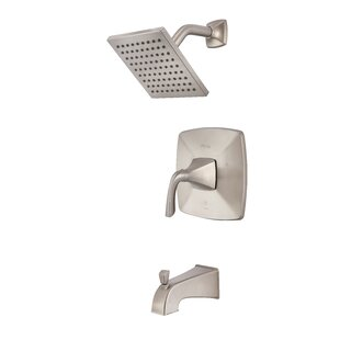Read Reviews Bronson 1-Handle Thermostatic Tub and Shower Faucet ByPfister