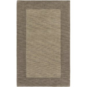 Piedmont Park Francis Hand-Loomed Gold Area Rug