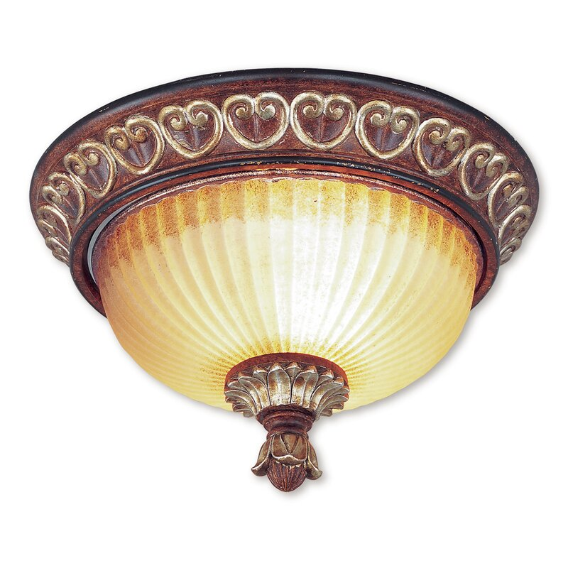 Astoria Grand Scottdale 2 Light 15 Unique Statement Bowl Flush Mount Reviews Wayfair