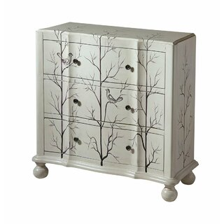 Andrea 3-drawer Standard  Chest by One Allium Way SKU:BE458054 Shop