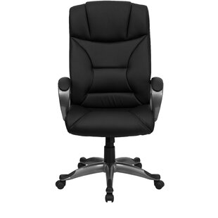 Symple Stuff Winsor Leather Executive Chair