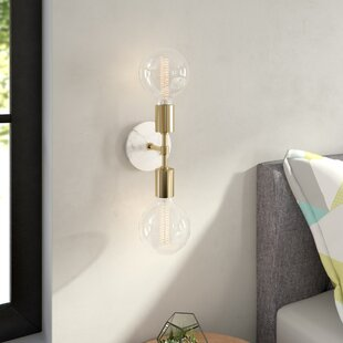 Compare Katzer 2-Light Armed Sconce By Mercury Row