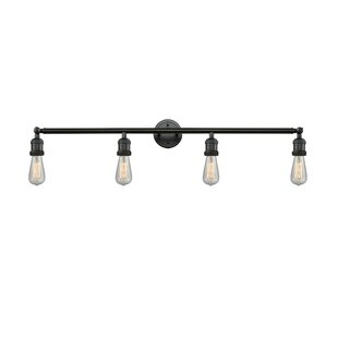Bare Bulb 4-Light Vanity L..