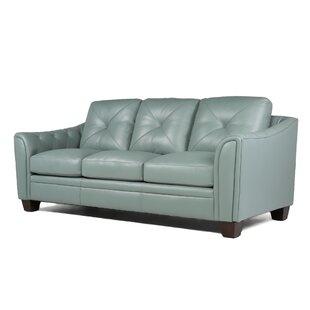 Blue Leather Sofas