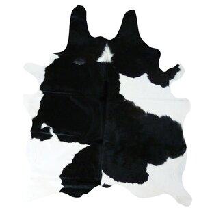 Buy Cedarton Natural Cowhide Black/White Area Rug ByWade Logan