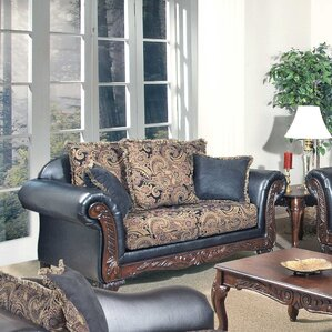 Upholstered Loveseat by Serta Upholstery