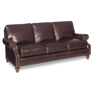 Bradington-Young West Haven Leather Sofa