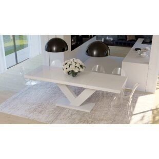 Cann Extendable Dining Table by Orren Ellis