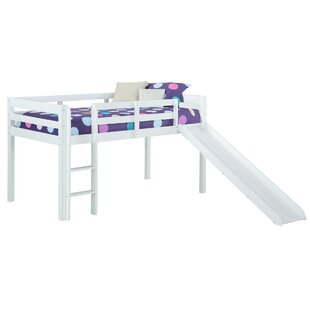 Sammons Junior Twin Low Loft Bed by