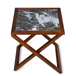 Triple Rock X/Cross Legs End Table