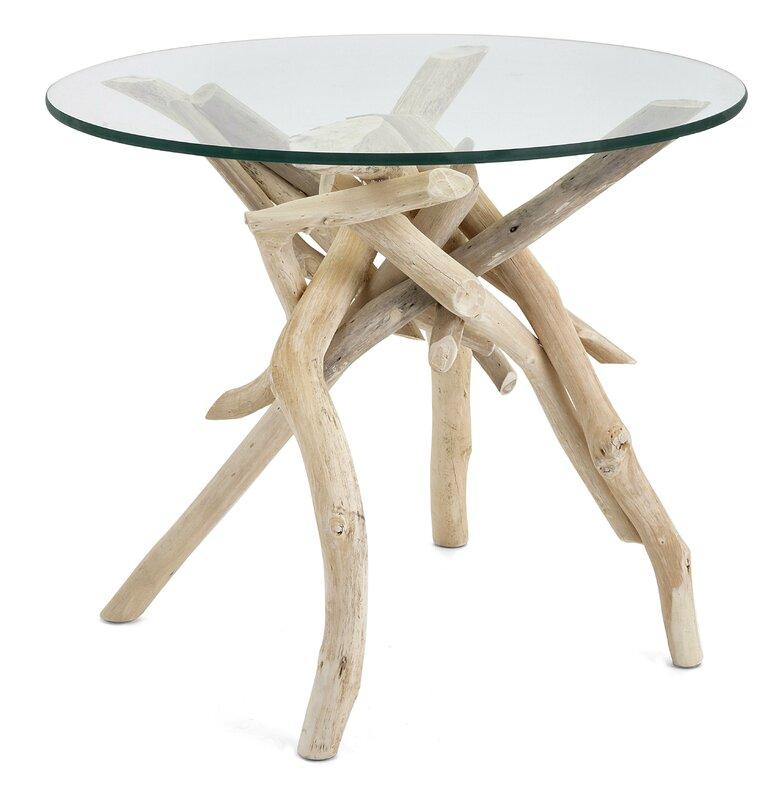 bright and modern driftwood desk. Inshore Driftwood End Table Rosecliff Heights  Reviews Wayfair