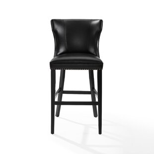 Dace Hardwood Frame Bar Stool
