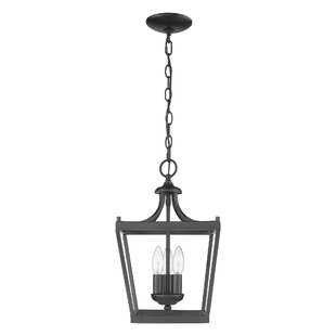 Rancourt 3-Light Lantern Pendant by Charl..