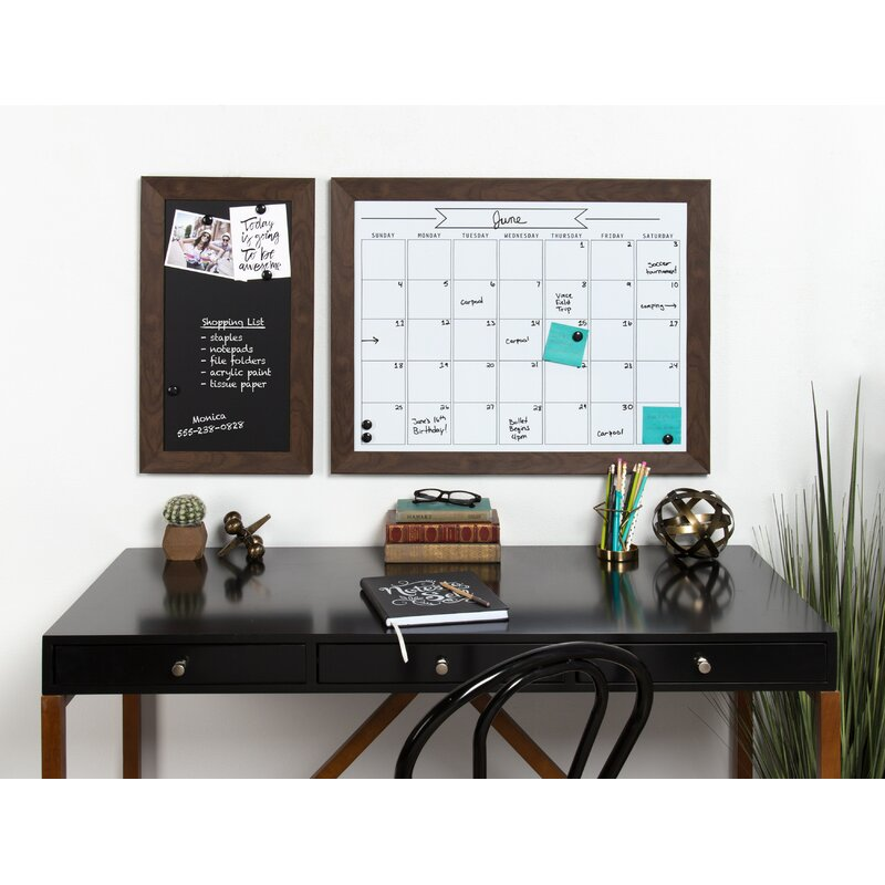 Union Rustic Framed Magnetic Wall Mounted Chalkboard & Reviews | Wayfair