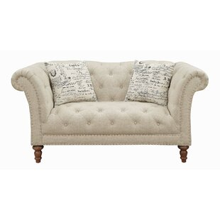 Coaster Josephine Chesterfield Loveseat