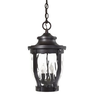 Three Posts Porterfield 3-Light Outdoor Hanging Lantern