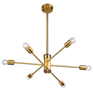 Savings Kinman 6-Light Chandelier By Mercer41
