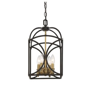 Yepez 4-Light Foyer Pendant