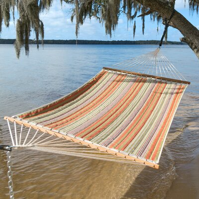 Midway Quilted Double Spreader Bar Hammock by Freeport Park Design