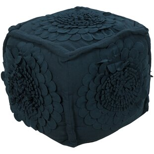 Lacey Cube Ottoman by August Grove