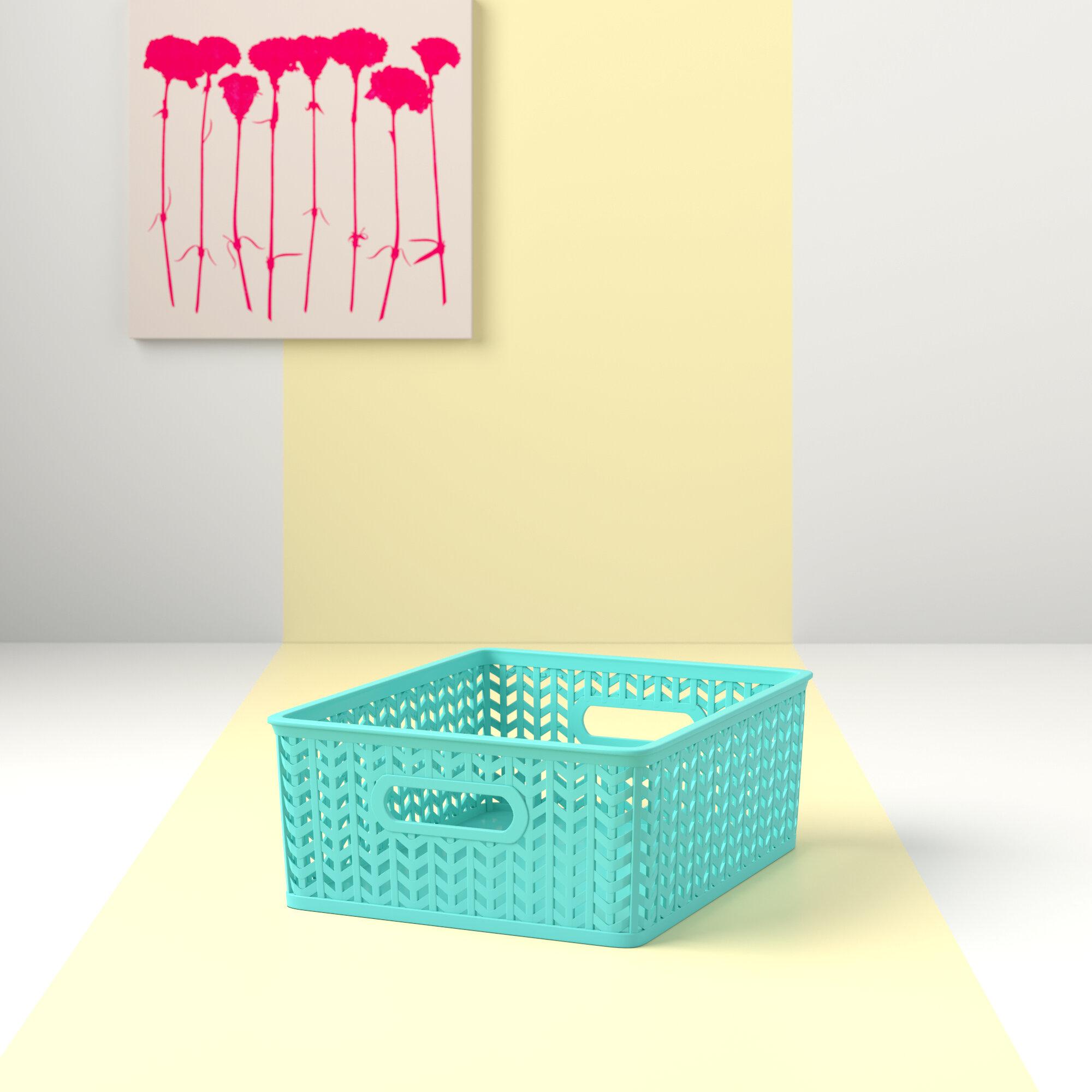 e158e687e89a Shelf Tote Basket | Wayfair