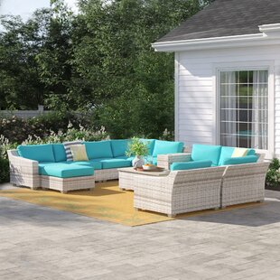 Falmouth 12 Piece Sectional Set with Cushions