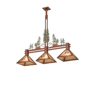 Loon Peak Yair 3-Light Kitchen Island Pendant
