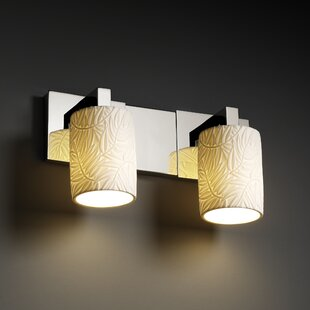 Darby Home Co Gudruna Contemporary 2-Light Vanity Light