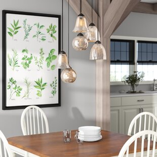 Kiefer 6-Light Cluster Pendant by Andover Mills