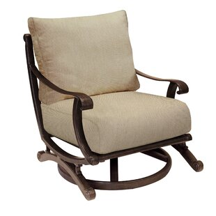 Rialto Swivel Rocking Chair with Cushion